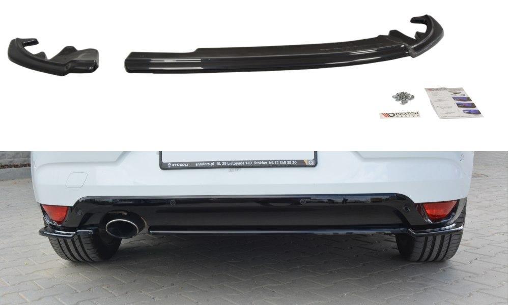 Splittery Tylne Boczne Renault Megane Mk4 Hatchback - GRUBYGARAGE - Sklep Tuningowy